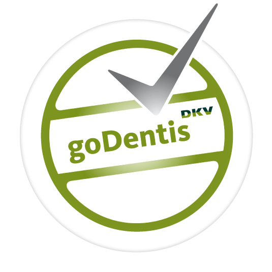 Wir sind eine Partnerpraxis von GoDentis.